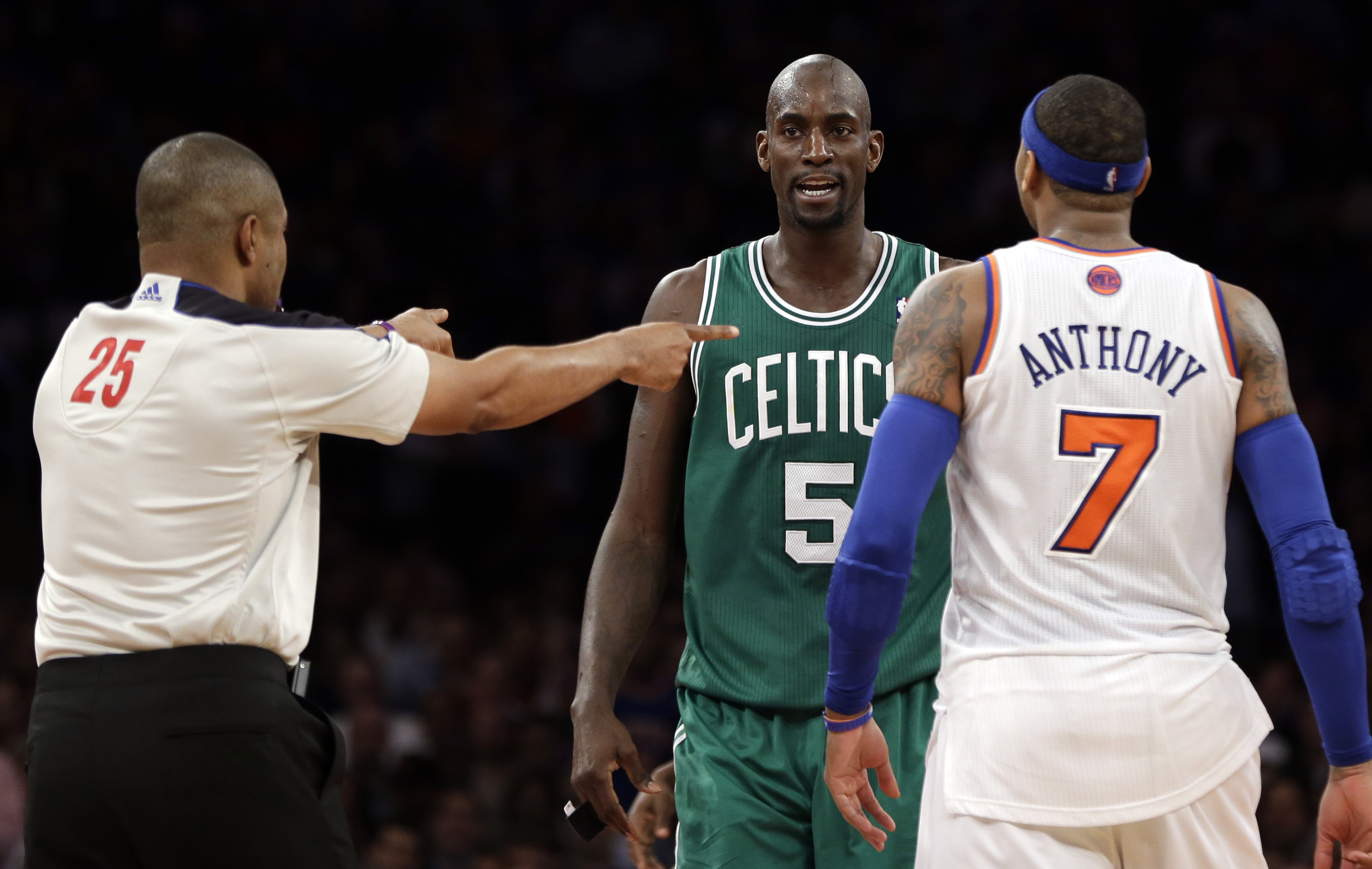 Knicks Anthony Basketball