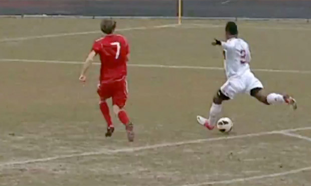AC Milan youth player's length of pitch goal emulates George Weah's 1996 effort - video