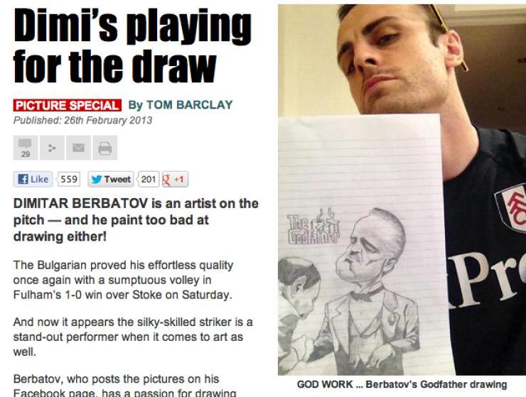 berbatov artista