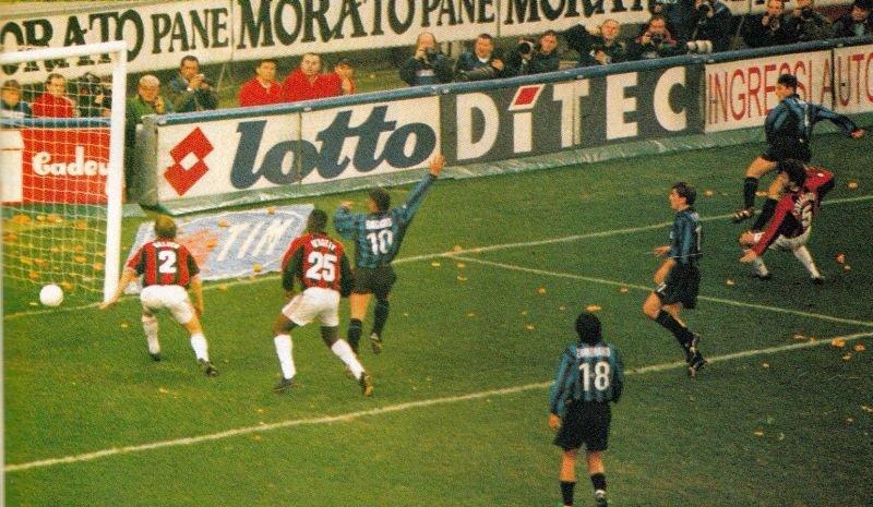 campionato13marzo1999intermilan22ilgoldelpareggiodizanetti