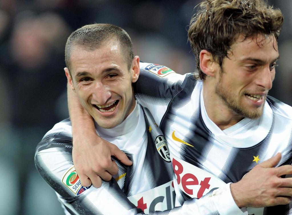 Chiellini e Marchisio