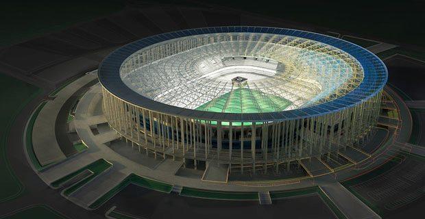 'Estadio Nacional di Brasilia