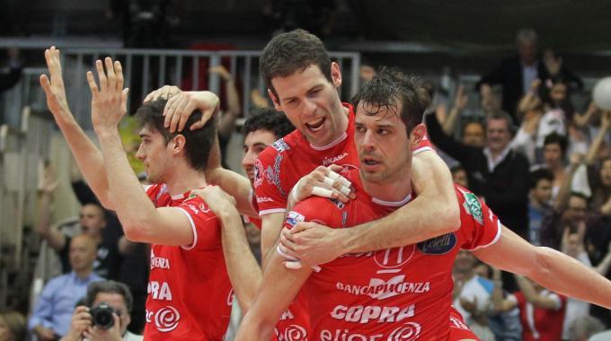 Volley, finale scudetto: Piacenza pareggia i conti