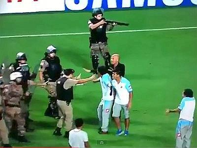 polizia fucile
