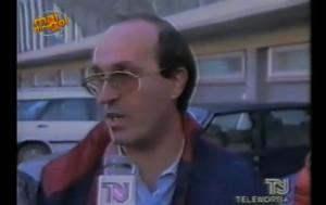 DI Stefano intervistato ai tempi della presidenza rossoblù