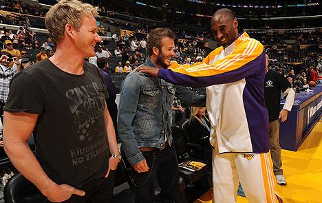 Beckham come esempio per Kobe Bryant