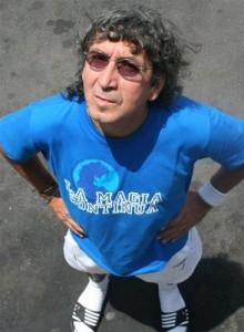 Màgico Gonzàlez, tecnicamente il miglior calciatore della storia a detta di Maradona. Ora fa il tassista.