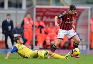 Soccer: Serie A; Chievo-Milan