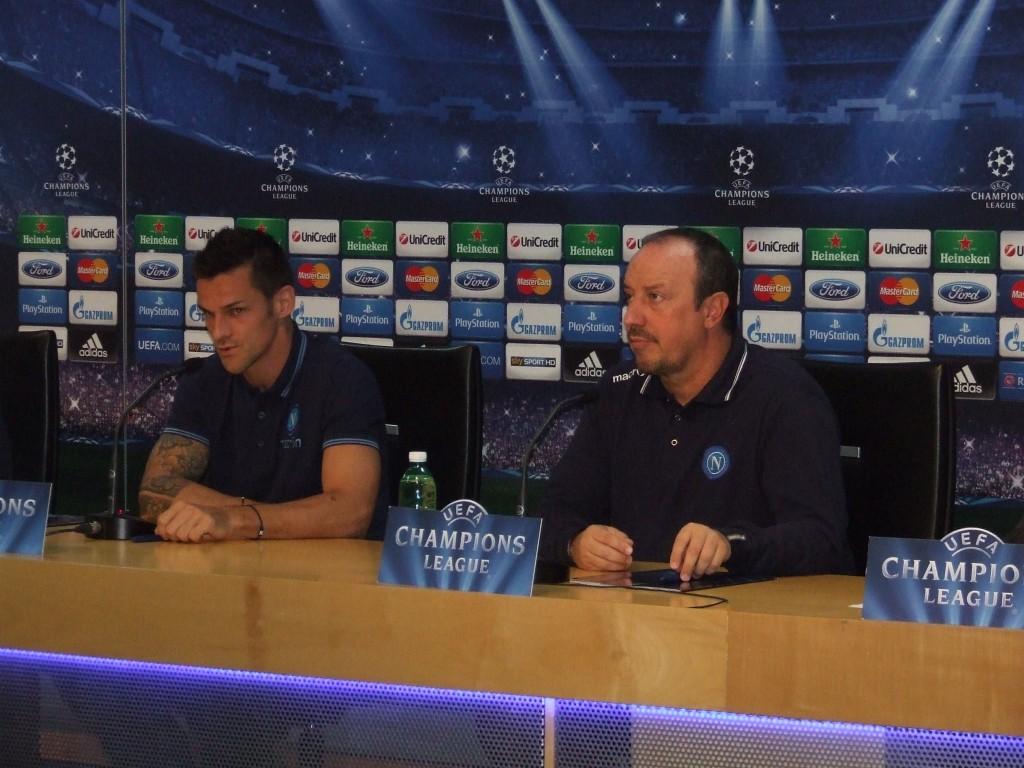 Christian Maggio e Rafa Benitez credits