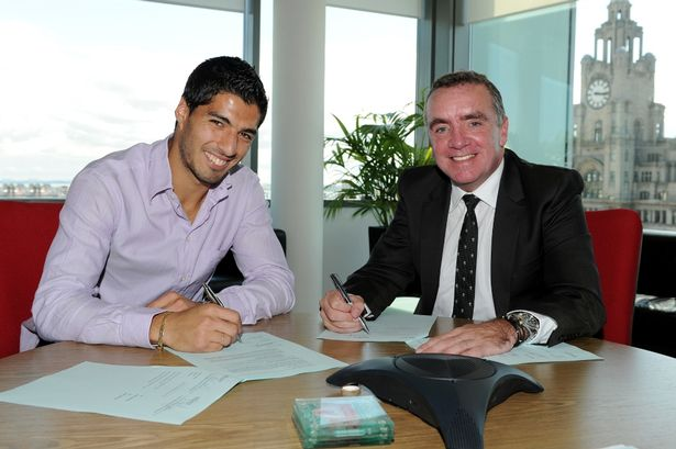 Luis Suarez Signs New Contract With Liverpool FC-1235975