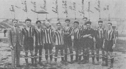 Ging con i suoi ragazzi nel 1921. In quell'annata il Pisa sfiorò lo scudetto