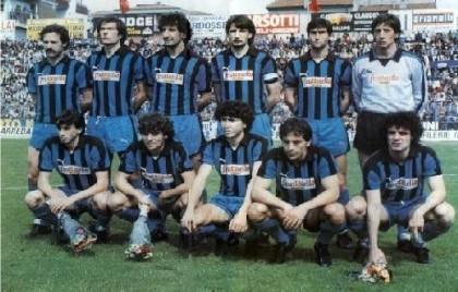 La formazione del Pisa di Romeo Anconetani che conquistò la promozione in A al termine della stagione 1981-82.