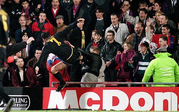 Gennaio '95, Cantona assale un tifoso del Crystal Palace