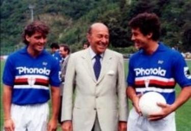 Sampdoria Mancini, Mantovani e Vialli