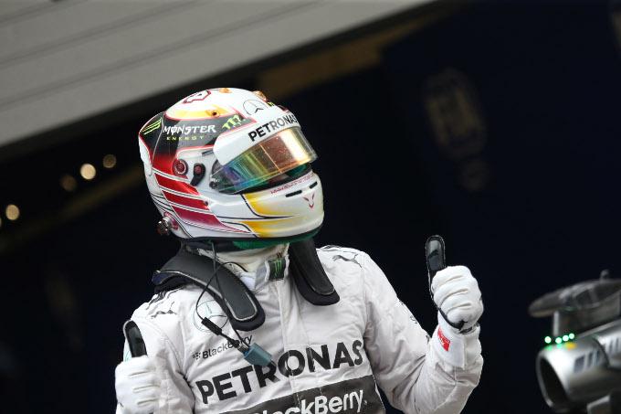 19.04.2014- Qualifying, Lewis Hamilton (GBR) Mercedes AMG F1 W05