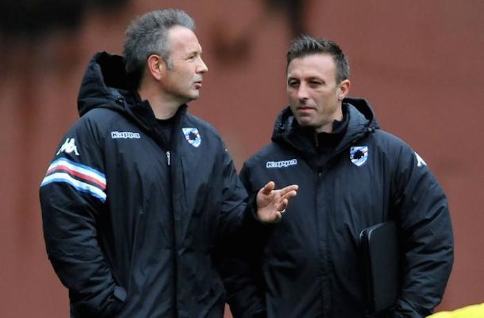 Sampdoria/Primo allenamento Mihajlovic