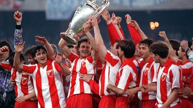 La Stella Rossa Belgrado vincitrice nel 1991