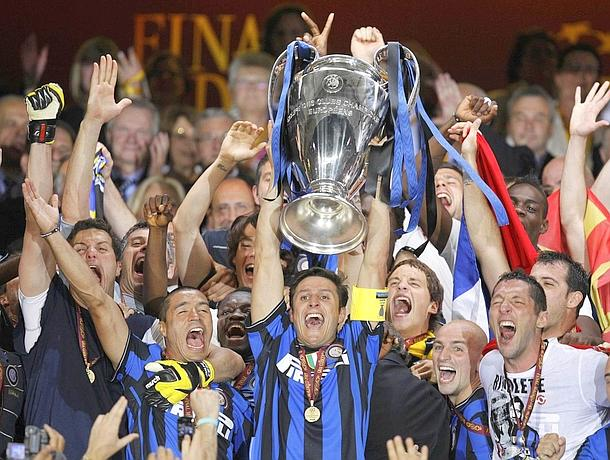 Inter triplete champions league 2010