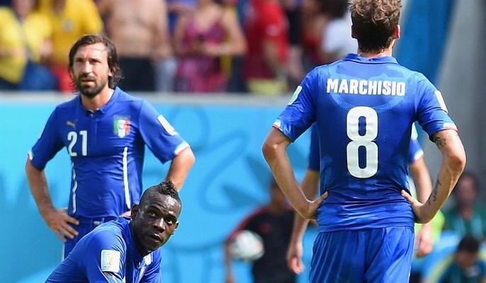 italia battuta mondiali