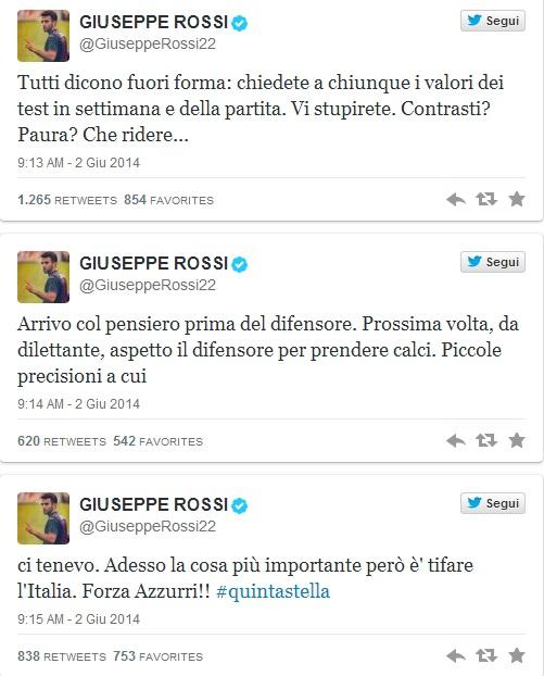 rossi tweet