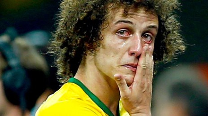 david luiz piange