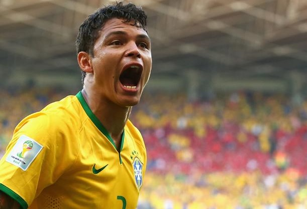 thiago silva gol brasile