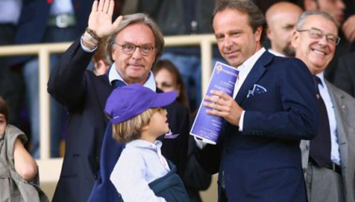 Andrea e Diego Della Valle Fiorentina - Fonte: ACF official