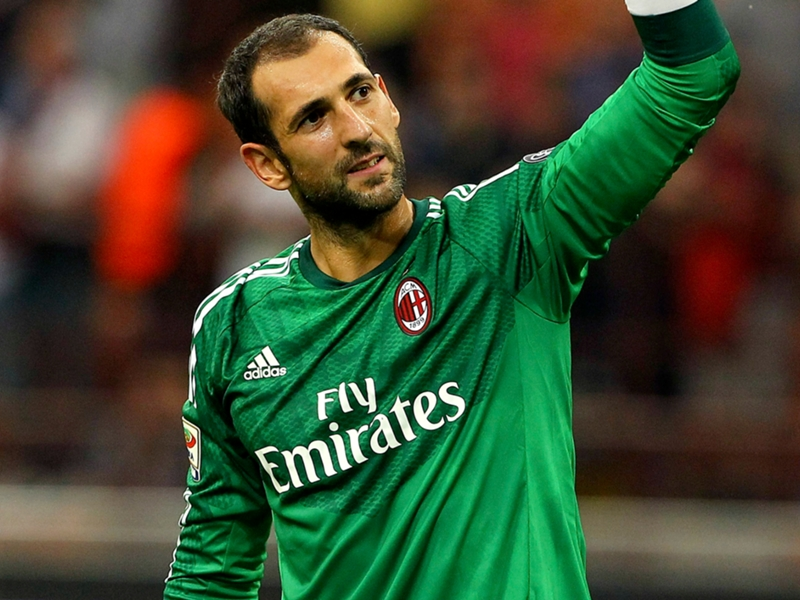 Diego Lopez, Milan - Fonte account twitter ufficiale