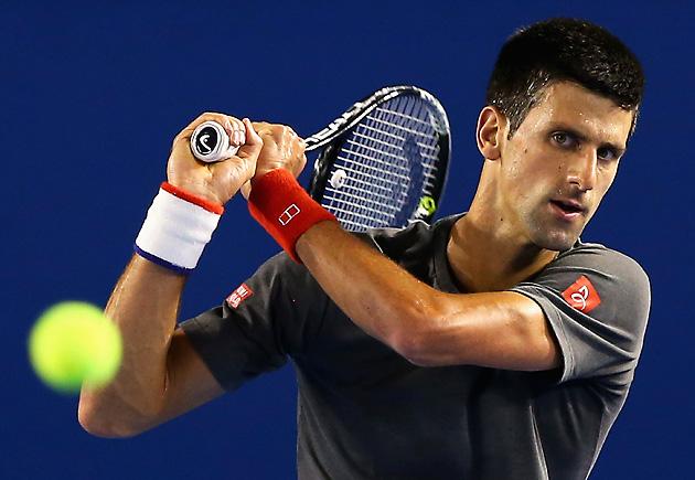 Testa di serie numero 1: Novak Djokovic