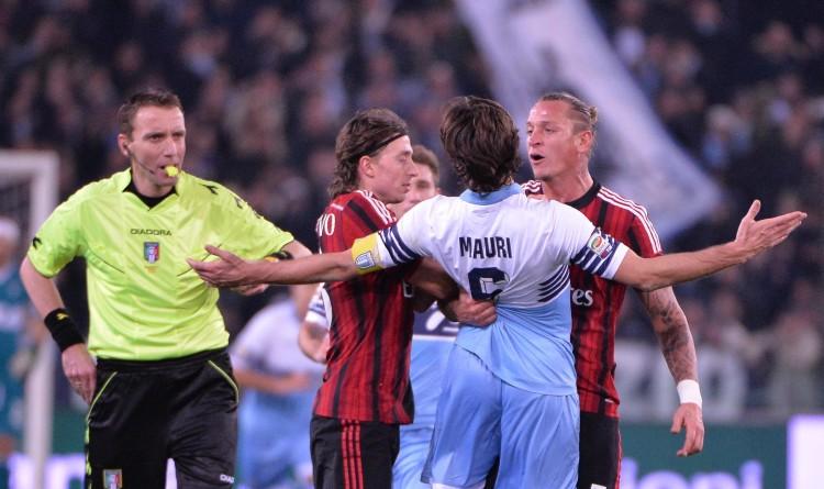 Soccer: Serie A; Lazio-Milan