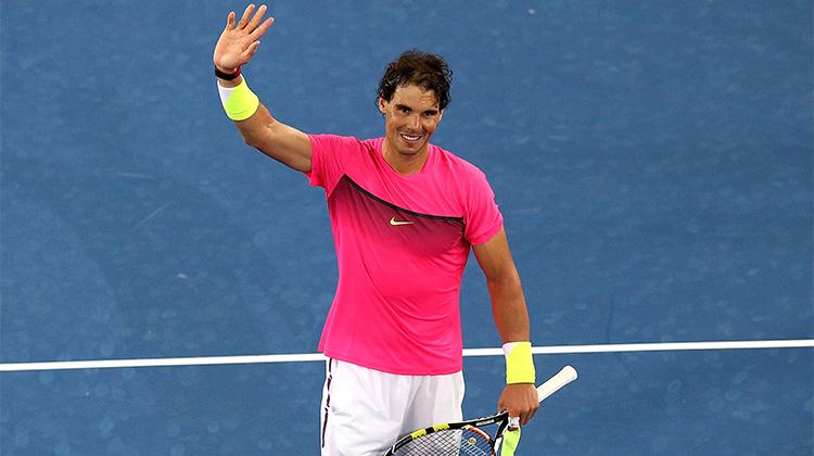 Testa di serie numero 3: Rafael Nadal