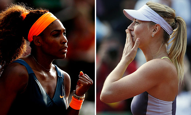 Serena Williams v Maria Sharapova