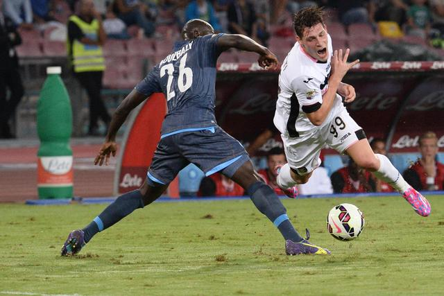 Soccer: Serie A; Napoli- Palermo