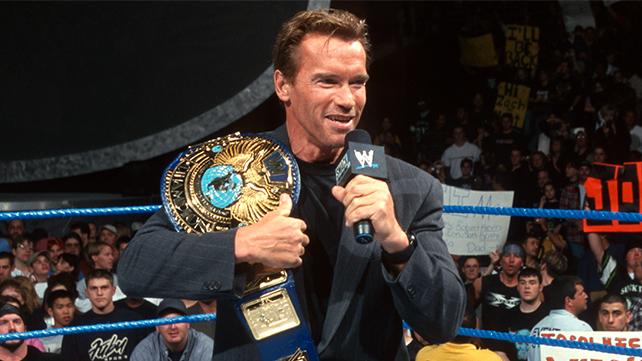 Arnold Schwarzenegger WWE