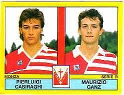 La coppia d'attacco del Monza edizione 1988/89. Niente male eh?