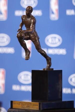 LeBron James Press Conference for 2008-09 MVP