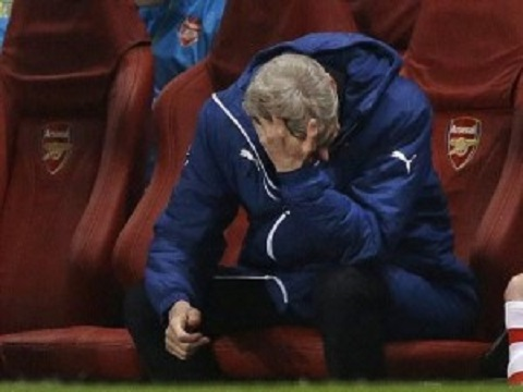 wenger arsenal disperazione