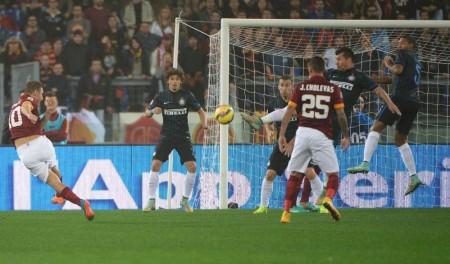 Soccer; Serie A; Roma-Inter