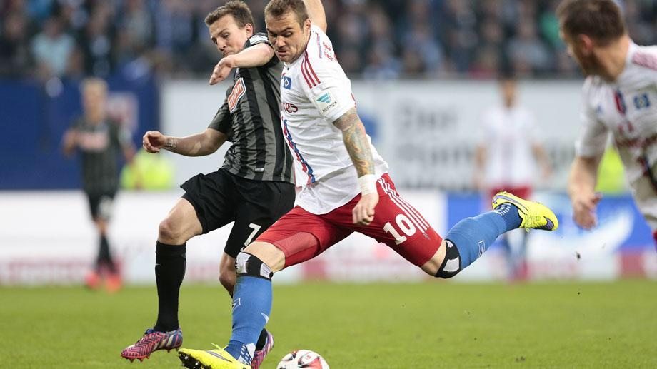 Amburgo-Werder Brema 2-1: Lasogga inguaia i biancoverdi