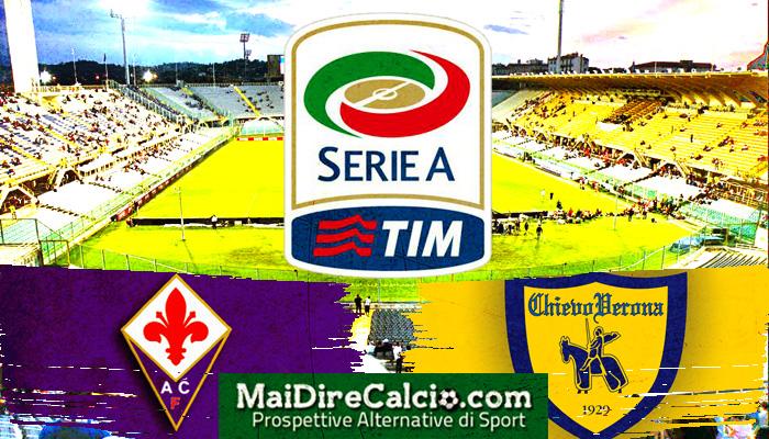 Le formazioni ufficiali di Fiorentina-Chievo - Serie A 2016/17
