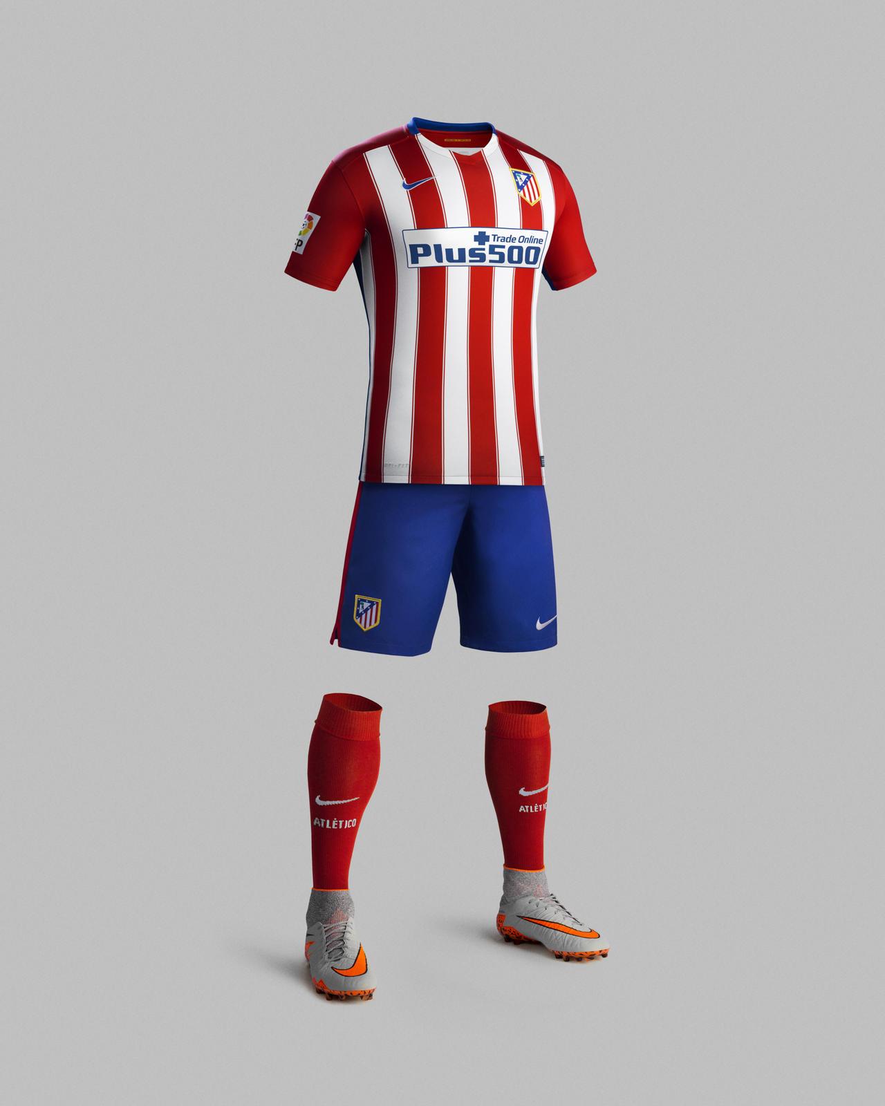 divisa calcio Atlético de Madrid nuova