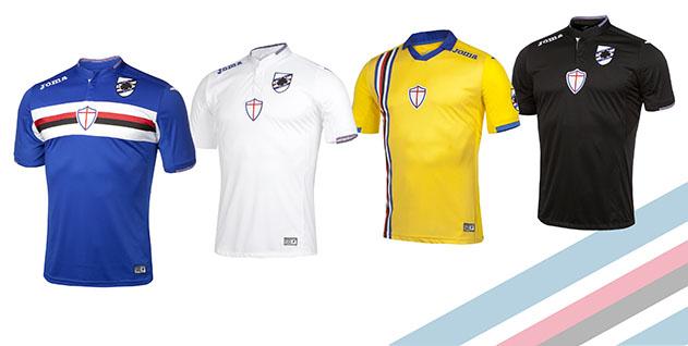 completo calcio Sampdoria ufficiale