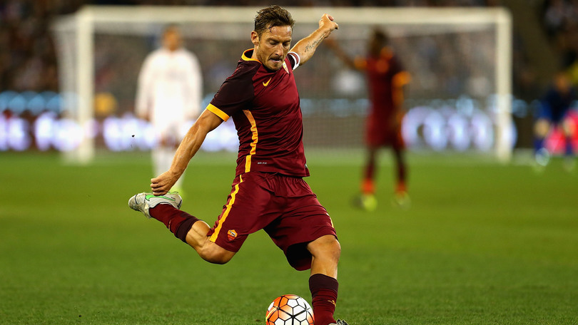 totti international champions cup