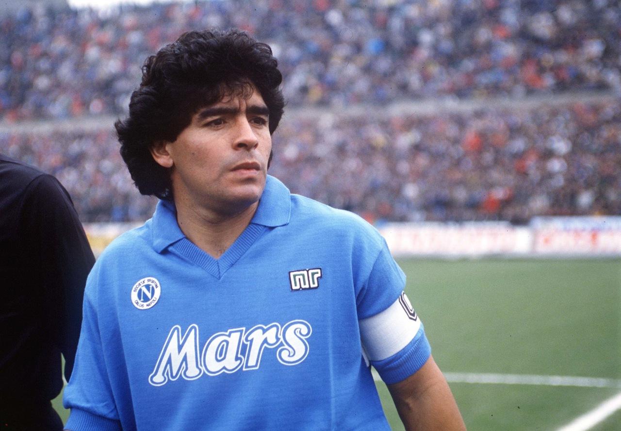 Maradona a Napoli: cronaca di una notte speciale
