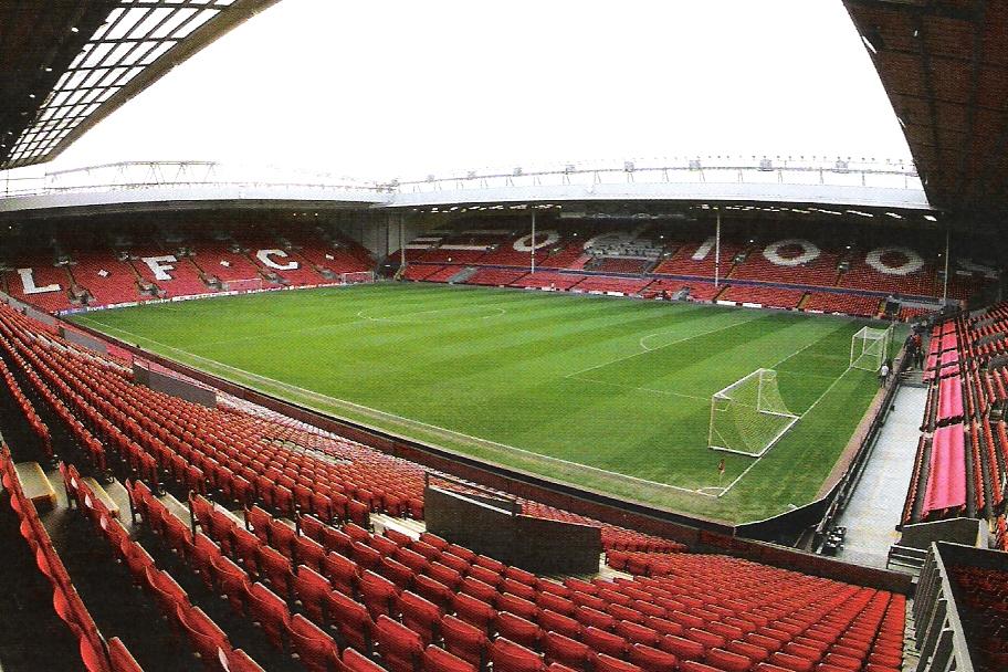 Liverpool: in vendita i sedili della Main Stand di Anfield