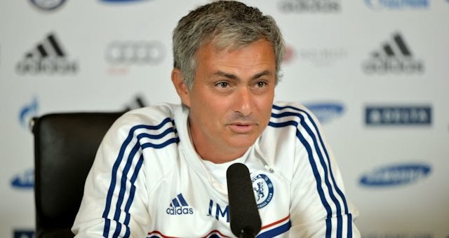 Chelsea manager Jose Mourinho during a press conference