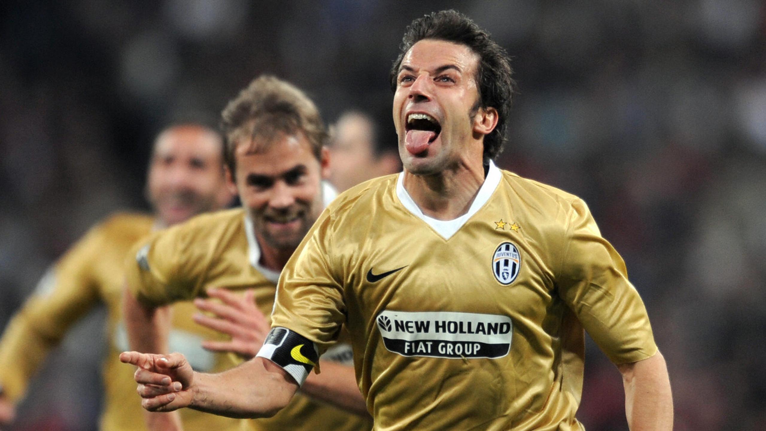 Del Piero, il Re del Bernabeu: una doppietta da standing ovation