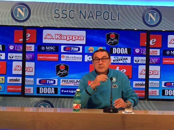 Sarri conferenza stampa