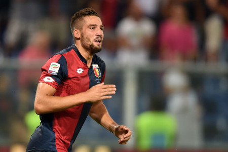 Genoa vs Hellas Verona-pavoletti