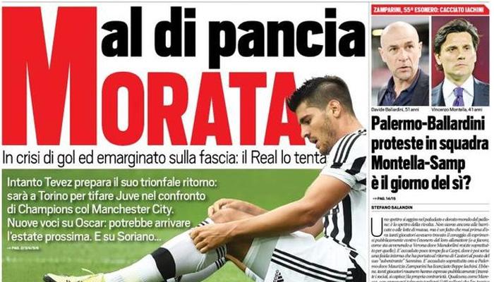 Rassegna Stampa Sportiva Italia Juventus Sul Mercato
